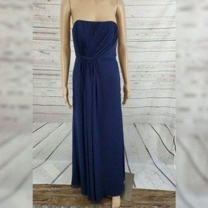Vineyard Collection Dress Blue 4 Gown Strapless